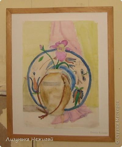 Новогодний вернисаж- выставка работ учеников художественной школы фото 32