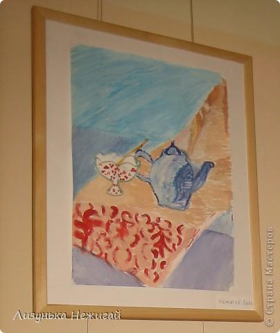 Новогодний вернисаж- выставка работ учеников художественной школы фото 39