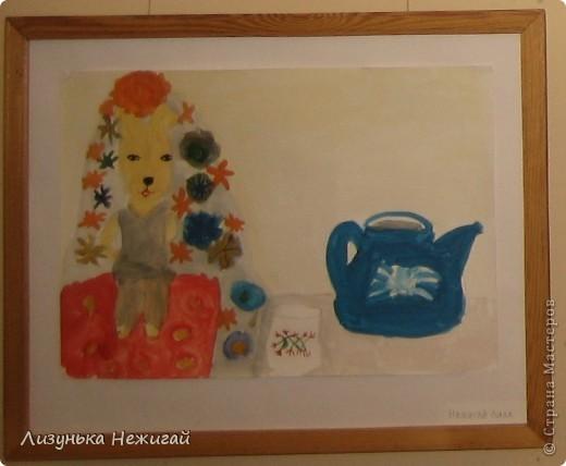 Новогодний вернисаж- выставка работ учеников художественной школы фото 26