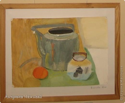 Новогодний вернисаж- выставка работ учеников художественной школы фото 27