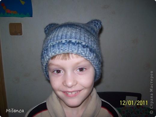 Шапочки и шарфики фото 2