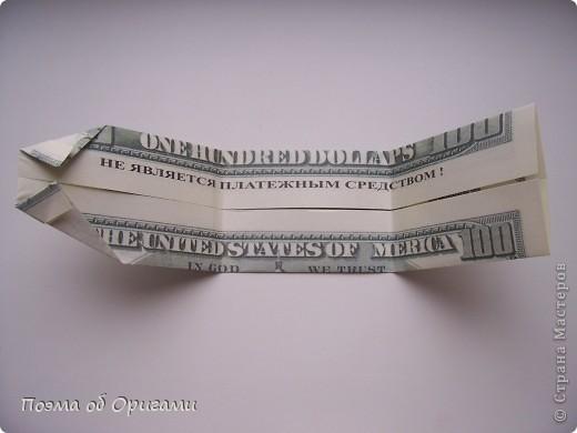 Слово «дорогая» в названии мастер-класса можете трактовать на Ваше усмотрение. Но вот то, что это действительно блокнот, позволяющий записать достаточно много полезной информации – однозначно! В этой работе показано последовательность складывания рубашки из банкноты двумя способами: один обычный и другой – рубашка с галстуком. фото 13