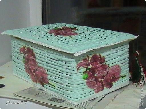 Благодаря МК Физалии и Любочке Вологда, я сплела свою первую коробочку. Спасибо Вам девочки огромное. фото 2