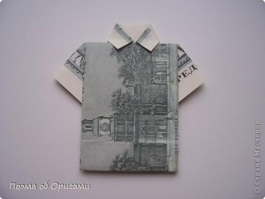 Слово «дорогая» в названии мастер-класса можете трактовать на Ваше усмотрение. Но вот то, что это действительно блокнот, позволяющий записать достаточно много полезной информации – однозначно! В этой работе показано последовательность складывания рубашки из банкноты двумя способами: один обычный и другой – рубашка с галстуком. фото 18