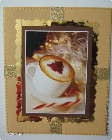 У меня сегодня две открытки: новогодняя и на день рождения. фото 7