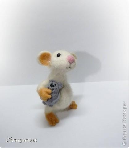 """Мышонок """"Крошка"""" фото 4"""
