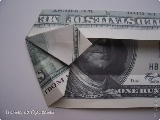 Слово «дорогая» в названии мастер-класса можете трактовать на Ваше усмотрение. Но вот то, что это действительно блокнот, позволяющий записать достаточно много полезной информации – однозначно! В этой работе показано последовательность складывания рубашки из банкноты двумя способами: один обычный и другой – рубашка с галстуком. фото 31