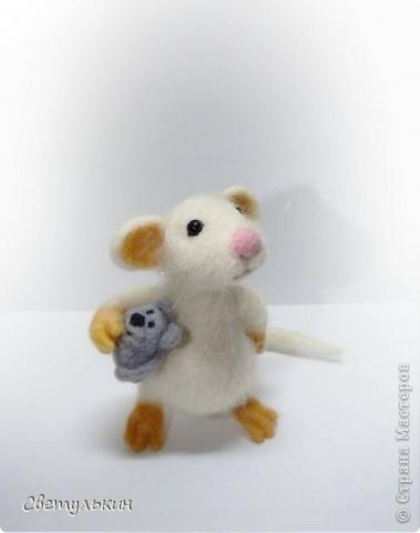 """Мышонок """"Крошка"""" фото 2"""