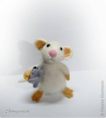 """Мышонок """"Крошка"""" фото 3"""