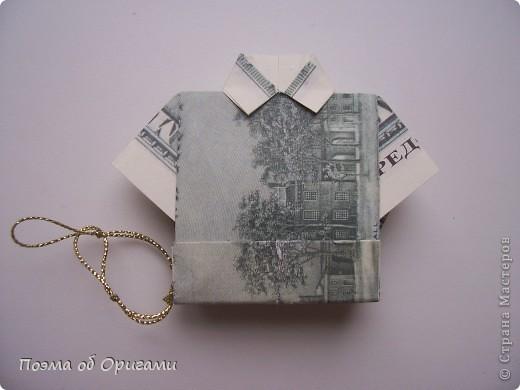 Слово «дорогая» в названии мастер-класса можете трактовать на Ваше усмотрение. Но вот то, что это действительно блокнот, позволяющий записать достаточно много полезной информации – однозначно! В этой работе показано последовательность складывания рубашки из банкноты двумя способами: один обычный и другой – рубашка с галстуком. фото 56