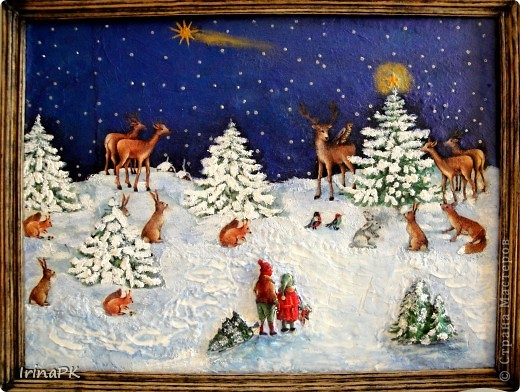 Поделки на тему рождественская
