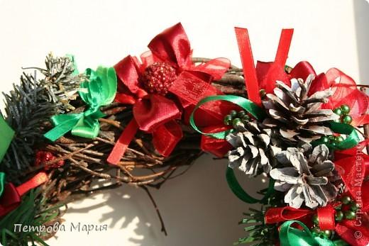 Венок рождественский фото 2