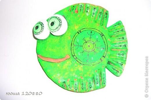 Это моя первая рыбка - посвящается ANAID !!!! Спасибо ANAID http://stranamasterov.ru/user/14093 !!!! (раскраска сделана по anaid) и форма рыбки по этой    http://stranamasterov.ru/user/41885   фото 2