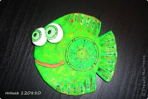 Это моя первая рыбка - посвящается ANAID !!!! Спасибо ANAID http://stranamasterov.ru/user/14093 !!!! (раскраска сделана по anaid) и форма рыбки по этой    http://stranamasterov.ru/user/41885   фото 1