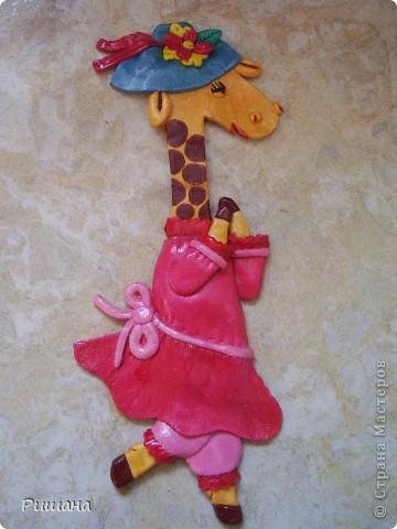 Такую подругу сделала своему жирафику http://stranamasterov.ru/node/102795 фото 1
