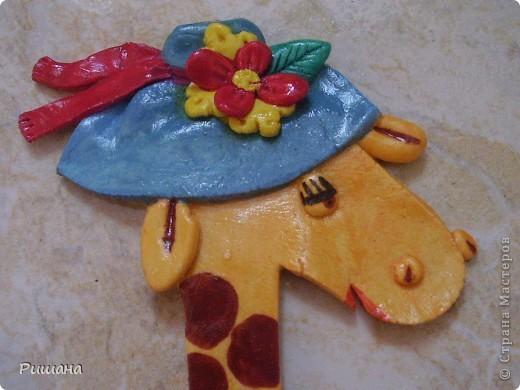 Такую подругу сделала своему жирафику http://stranamasterov.ru/node/102795 фото 2