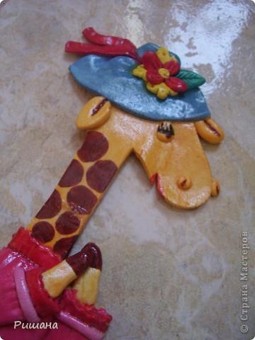Такую подругу сделала своему жирафику http://stranamasterov.ru/node/102795 фото 5