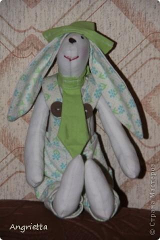 вот он какой подарочный Кролик это он стоит фото 2