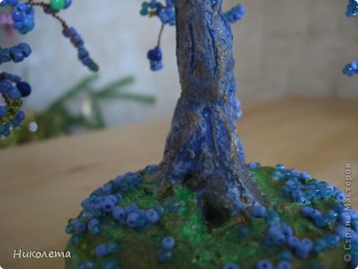 Понравилось делать деревья из бисера это моё второе деревце фото 2