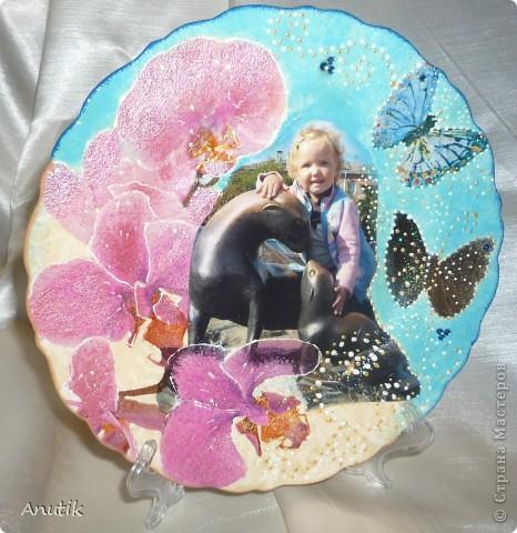 Тарелка с фото фото 1