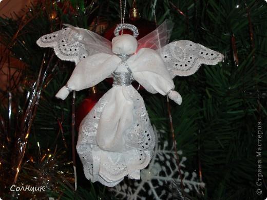 вот такие ангелочки встречали с нами рождество))) фото 2