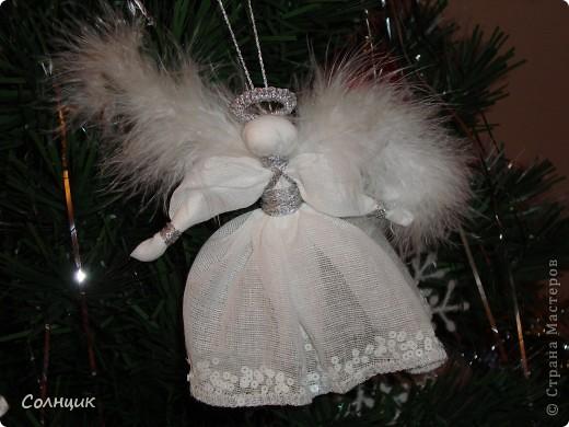 вот такие ангелочки встречали с нами рождество))) фото 3