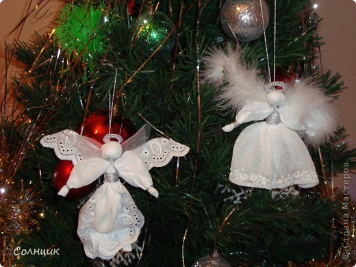 вот такие ангелочки встречали с нами рождество))) фото 1