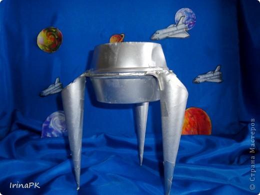 И увидеть там необычные летающие объекты. Аппарат для обследования планеты. фото 4