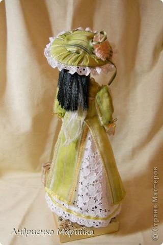 """Вот и появилась наконец то моя вторая кукла...Честно признаюсь, замысел был совсем другой...и где то на середине кукла стала """" рулить"""" мной)),не смогла я сопротивляться)) фото 8"""