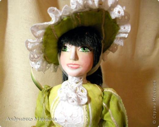 """Вот и появилась наконец то моя вторая кукла...Честно признаюсь, замысел был совсем другой...и где то на середине кукла стала """" рулить"""" мной)),не смогла я сопротивляться)) фото 6"""
