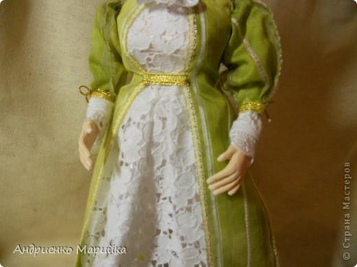 """Вот и появилась наконец то моя вторая кукла...Честно признаюсь, замысел был совсем другой...и где то на середине кукла стала """" рулить"""" мной)),не смогла я сопротивляться)) фото 3"""