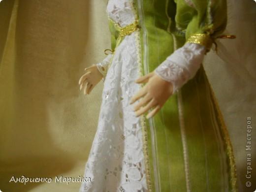 """Вот и появилась наконец то моя вторая кукла...Честно признаюсь, замысел был совсем другой...и где то на середине кукла стала """" рулить"""" мной)),не смогла я сопротивляться)) фото 4"""
