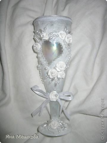Мой первый свадебный бокальчик!) фото 8