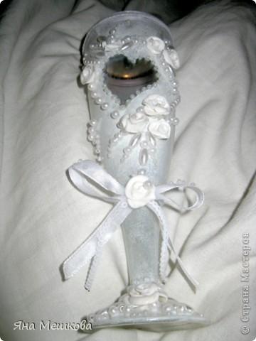 Мой первый свадебный бокальчик!) фото 1