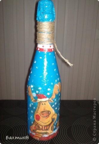 """бутылка """"год Тигра"""" фото 3"""