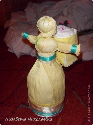 Куколка из кукурузы)) фото 1
