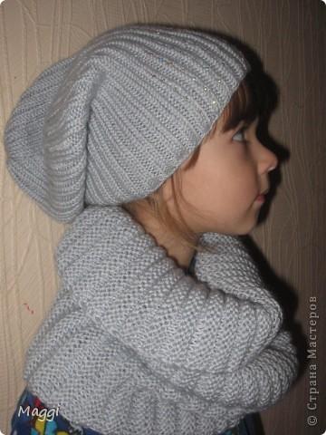 И снова в качестве модели моя средняя доченька.  фото 1
