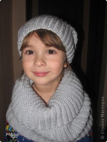 И снова в качестве модели моя средняя доченька.  фото 2
