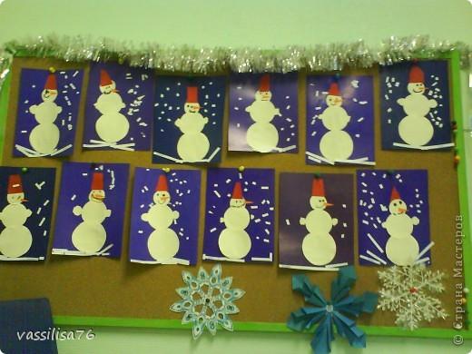 Весёлые снеговики фото 1