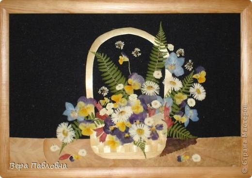 Флористика, Цветы в соломенных вазах фото 2