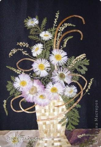 Флористика, Цветы в соломенных вазах фото 1