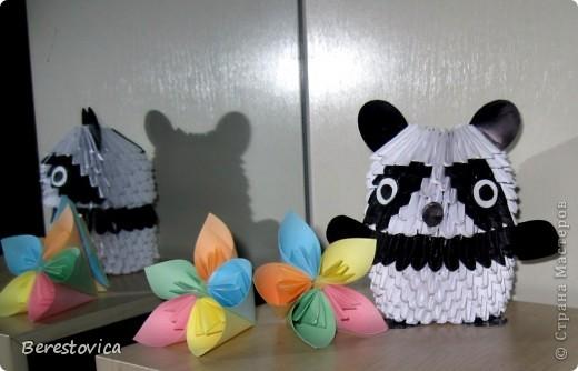 панда из модулей