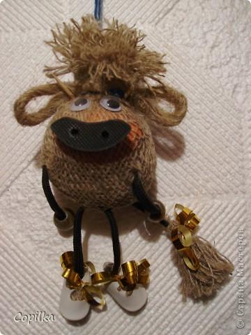 Заказ - коровка должна двигаться,чтоб играть можно было(Варвара была в гостях,ей было скучно) фото 1