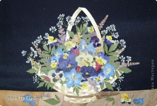 Флористика, Цветы в соломенных вазах фото 3