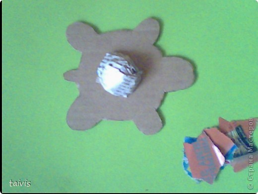 Черепашки (что-то типа детского папье-маше) фото 3