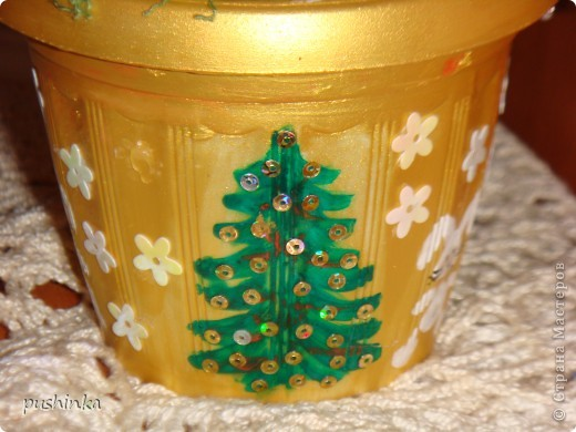 Это новогоднее дерево с символами года мне мама сделала в подарок. фото 5