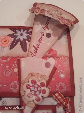 Я тоже решила принять участие в игре Лены-Лены http://stranamasterov.ru/node/131341?c=favorite., как раз собиралась делать открытку сестере на день рождение... фото 2