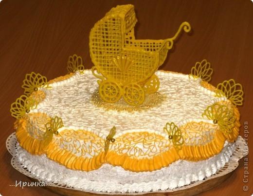 торт для новорожденной племянницы фото 1