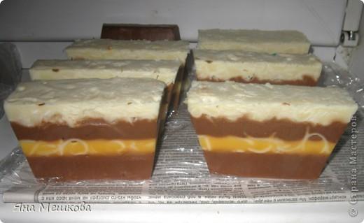 5 видов мыльных тортиков!!! фото 1