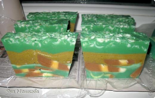 5 видов мыльных тортиков!!! фото 4
